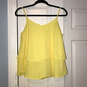 Flowy blouse (yellow)